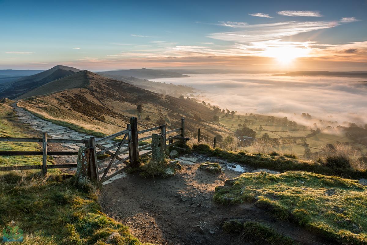 Mam Tor Gate - Peak District Landscape Photography